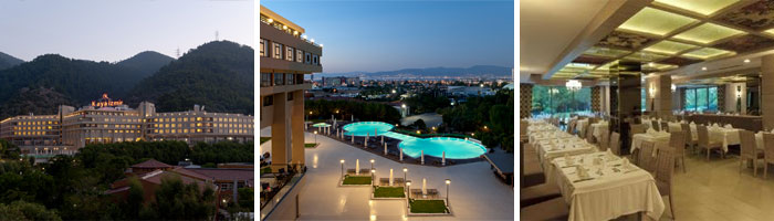 Bakhus Reisburo: wellness beauty spa: Kaya Izmir Thermal & Convention 5*